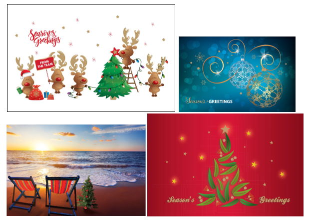 Charity Christmas Card Designs