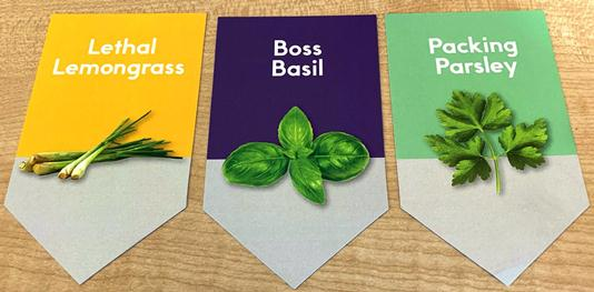 Custom printed plant labels