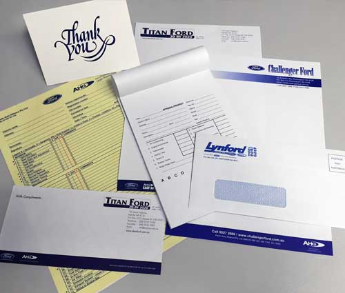 Printed Business Stationary