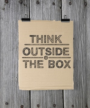 Think Outside the Box graphic
