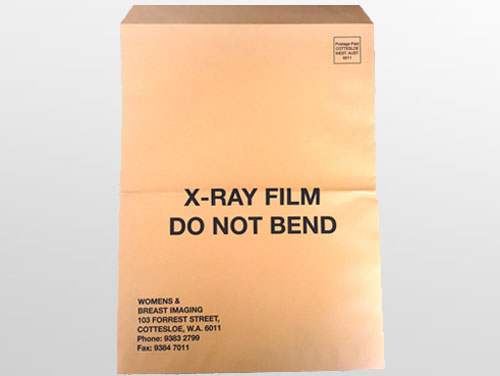 Custom Printed X Ray Envelope – G Force Printing Perth