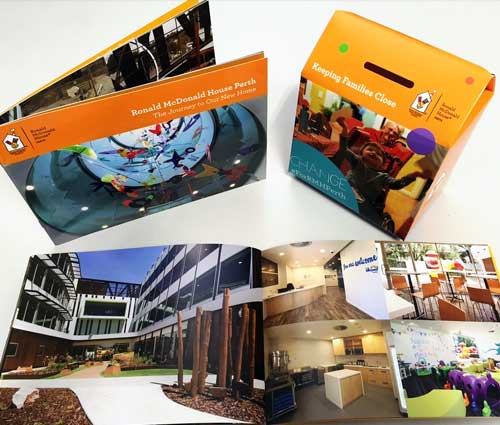 RMH Printed Booklets and Colection Boxes