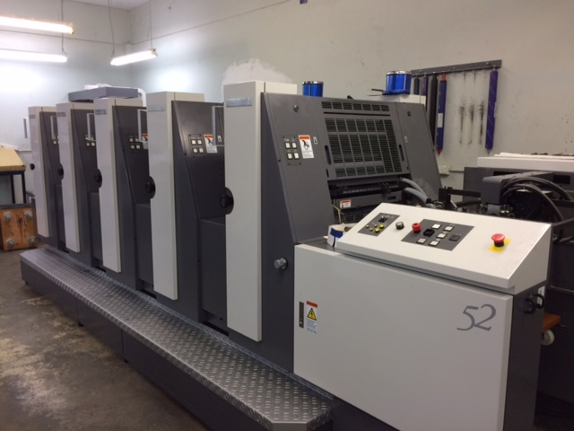 Shinohara 5 Colour Offset Printing Press