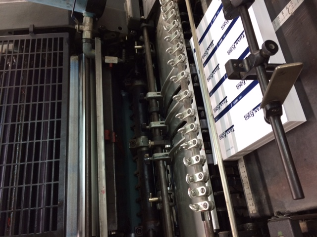 Shinohara 5 Colour Offset Printing Running